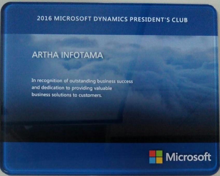 2016 Microsoft Dynamics President's Club